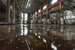 Reflections (GR1CreativeMedia) Tags: light urban sunlight abandoned industry station reflections nikon industrial power slow decay pipes steam full generators frame shutter d750 fx exploration derelict ultrawide f4 urbex 1635