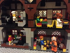 """We get all kinds"" (redlegorev) Tags: beer cafe lego medieval admiral brats chewbacca porkins jek akhbar"