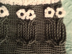 Owl Cocoon (Karla Twomey) Tags: baby cable owl sack cocoon bunting