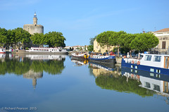 Canal du Rhône à Sète (richardpearson99) Tags: france boats waterfront gard aiguesmortes languedocroussillon 2015 canaldurhôneàsète