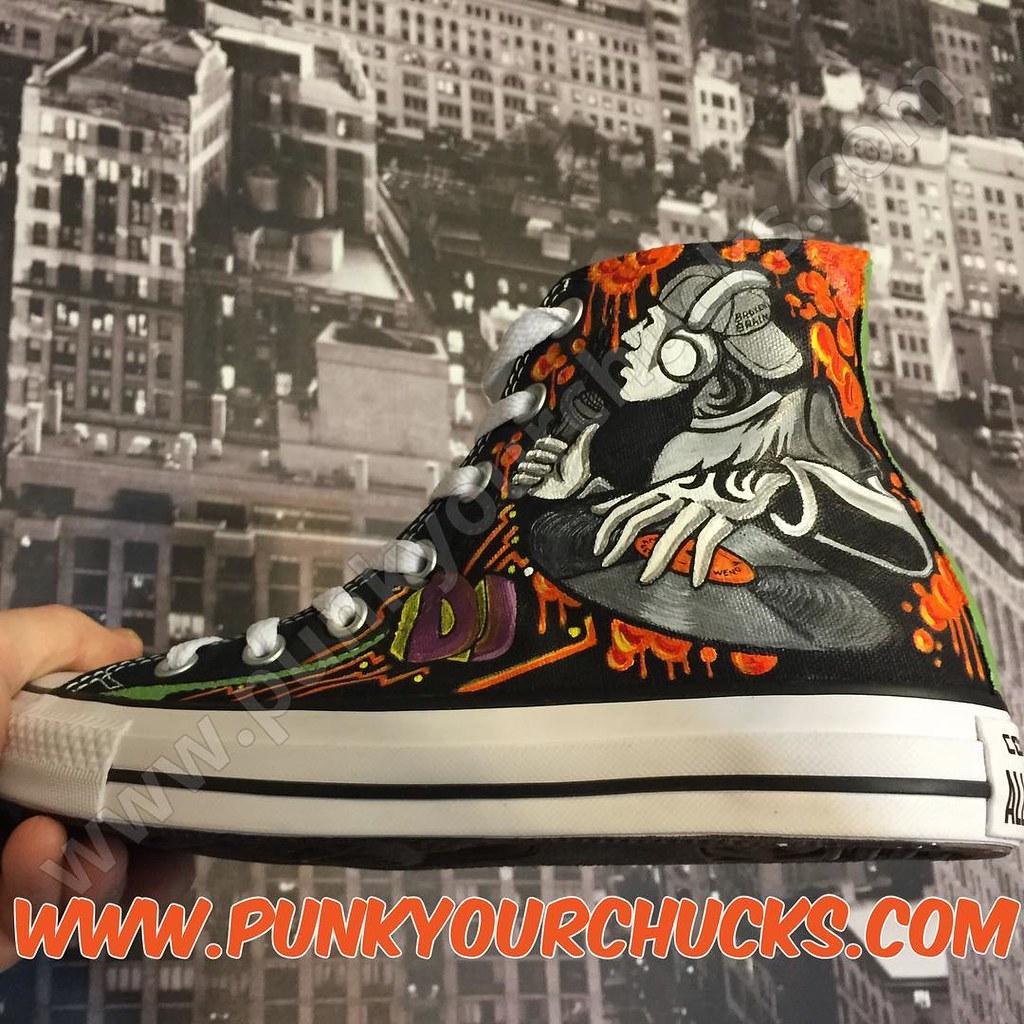1eee94d99d1d Custom DJ Chucks by MAG from Punk Your Chucks!!! (punkyourchucks) Tags