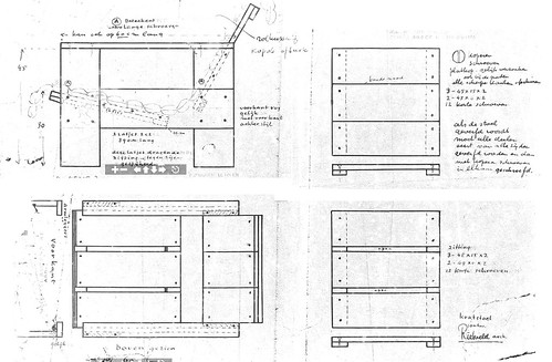 Wondrous Gerrit Rietveld Crate Chair Plans A Photo On Flickriver Download Free Architecture Designs Scobabritishbridgeorg