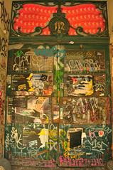 the door (meeeeeeeeeel) Tags: street door city travel cidade urban berlin abandoned tourism germany deutschland graffiti nikon europa europe porto urbandecay urbanart porta urbana rua tagging 112 europeanunion berlim alemanha grafite pixo pichao