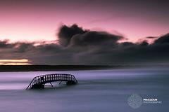 Belhaven Bay Bridge (MacLeanPhotographic) Tags: longexposure bridge beach landscape scotland fujifilm dunbar eastlothian belhavenbay bridgetonowhere xpro2 1655mmf28 lee09ndgrad lee10xndbigstopper