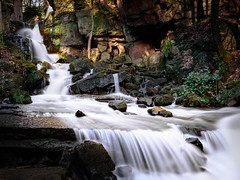 DSC_7678 Crop (TDG-77) Tags: water landscape countryside waterfall nikon slow candy outdoor falls cotton shutter d750 effect f3545g 1835mm lumsdale