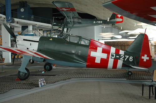 Swiss Air Force Morane-Saulnier D-3801