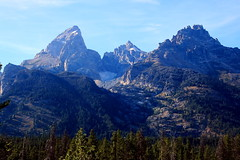 GRand Teton (left), Mount Own (middle) and Teewinot Mountain (right) Surrounding Glacier - Grand Teton National Park, Wyoming (danjdavis) Tags: mountains ice nationalpark glacier rockymountains wyoming grandtetons grandteton grandtetonnationalpark mountowen teewinotmountain