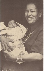 Postcrossing US-3862874 (booboo_babies) Tags: family baby blackwhite child unitedstates mother postcrossing nativeamerican american navajo