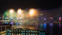 Kung Hei Fat Choi! (MrGGBen) Tags: longexposure hk hongkong nikon cityscape nightshot fireworks chinesenewyear explore cny kowloon lunarnewyear yearofthemonkey explored