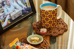 2016 38/366 (lisaclarke) Tags: us newjersey unitedstates crafts crochet livingroom tables 365 making crafting doilies longhill project365 photoprojects cornersofmyhome erikaknight tablemats tabletoppers simplecrocheting polkadotcottage 00places 3652016