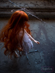 Maila (sweet as candy photo) Tags: vintage ginger lace chloe bjd redhair msd urbex minifee