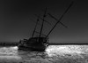 Shiver Me Timbers (JohnK ARW) Tags: longexposure bw cold ice frozen shipwreck bluehour lakeontario hfg jordanharbour tokinaatx116prodx sonynex7 johnklander