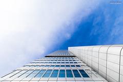 The Silver Tower Mainhatten (Steffen Dufner Photography) Tags: tower architecture silver frankfurt 1018 mainhatten 60d