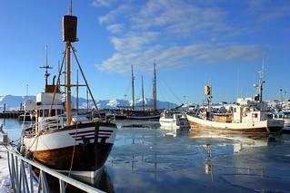 Húsavík harbour (explore Mar 2, 2016)