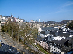 Luxembourg City & Kirchberg (tame_alien) Tags: building landscape luxembourg luxembourgcity