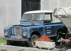 Land Rover II series Pick-up (Alessio3373) Tags: abandoned neglected forgotten landrover scrap abandonment decayed unloved unused scrapped abandonedcars scrappedcars landroveriiseries forgottencars autoabbandonate