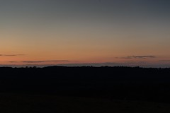 Night time sharpens, heightens each sensation (smcnally24601) Tags: sunset clouds spring box hill surrey national trust
