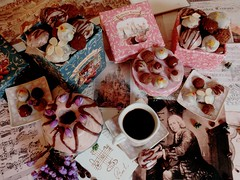(sketchesofdreams) Tags: music coffee cookies cake baking vegan desserts bach sweets classical baroque