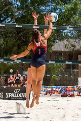 IMG_4885 (EddyG9) Tags: arizona set female women louisiana university outdoor beachvolleyball lsu spike athletes ncaa dig invitational tulane serve 2016 sandvolleyball
