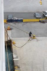 Time for departure (demeeschter) Tags: sea italy como boat harbour corsica ferries vado ligure savona