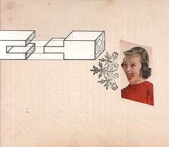 enthusiasm (kurberry) Tags: collage cutpaste cutandpaste vintageephemera collageaday