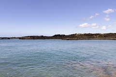 La Perouse Bay  Spinner Dolphin Nursery (rschnaible) Tags: ocean travel sea usa seascape landscape hawaii bay la us tour pacific cove sightseeing maui tourist touring perouse