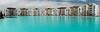 Blue Lagoons (B.e.D) Tags: trip travel viaje canon buildings mexico bed edificios lagoon laguna panograph panografía