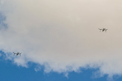 Noisy VTOL aircraft flying above us in Desert Hot Springs (bossco) Tags: aircraft vtol deserthotsprings