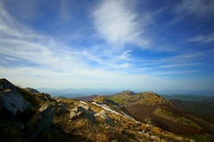 the view from the summit (Lucio Busa) Tags: italy mountain mountains clouds lens landscape landscapes big high exploring sigma wideangle adventure filter nd mm discovery 1020 1000 stopper a77 pollino sonyalpha