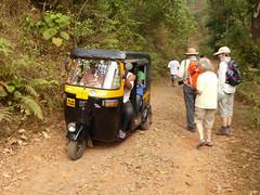 Tuk Tuk's get everywhere (Jackie & Dennis) Tags: india tuktuk wayanad rwh kalpetta bansura ramblersworldwideholidays kuttiyamvayall spicesplantationshillstations banasuraislandretreat