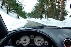 Navacerrada (Jose Luis RDS) Tags: sony nieve mazda miata rx mx5 roadster navacerrada rx10