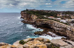 Watsons Bay Sydney (Chris Rose on Tour) Tags: ocean water rock bay meer wasser pacific sydney fels watsons ozean