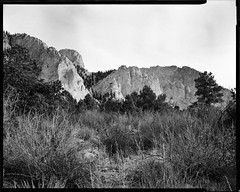 chalk cliffs, hwy 162, colorado (mike thomas) Tags: film analog landscape chalk cliffs buenavista 400 vista 4x5 sheet rodinal edu ultra buena arista