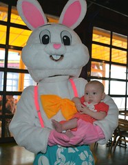 Rosemary Groce & Easter Bunny 2016