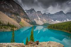 Moraine Lake (thunderheart2013) Tags: canada nationalpark glacier alberta northamerica banff lakelouise moraine morainelake valleyofthetenpeaks