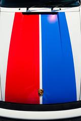 Brumos tribute (GmanViz) Tags: color detail car nikon automobile stripes 911 bumper porsche hood gmanviz d7000