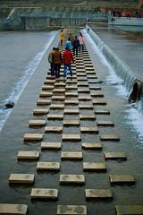 Walking on water in Chongzhou (jonarnefoss2013) Tags: china chengdu sichuan kina nikon1 chongzhou