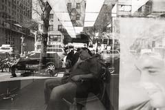 AA012 (heavyasmountains) Tags: nyc newyorkcity blackandwhite slr film 35mm photography nikon candid streetphotography noflash 24mm fm3a filmphotography streetstyle