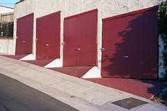 4 door lo mileage recent paint (ADMurr) Tags: park leica blue red white film 50mm la kodak garage echo summicron m4 ektar