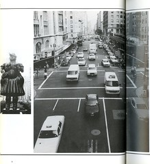 Traffic on 68th St. and Lexington Ave (Hunter College Archives) Tags: newyorkcity newyork cars traffic yearbook hunter 1994 lexingtonave cityofnewyork huntercollege 68thst wistarion thewistarion