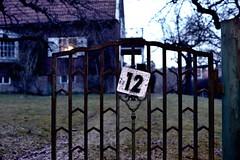 Number 12 (Psyko Spiff) Tags: house nikon gate number 12 twelve d800 nikonafs35f14g