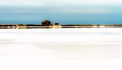The little house at the Salt Pan II (hannesgjetmundsen) Tags: house afrika namibia walvisbay saltpan