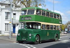 POU494 (PD3.) Tags: park uk friends england bus buses st king day ride broadway hampshire alfred titan winchester catherines leyland psv pcv pou hants 494 pd2 catherines fokab pou494