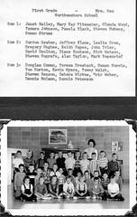 1963 Northwestern Elementary School Mrs Rex 1st grade class photo + roster 63-64 scan fr Eric Weber (ameshighschool) Tags: school classmate classmates group iowa elementaryschool northwestern classphoto roster 1stgrade amesiowa ahsaa wwwameshighorg ameshighorg ameshighschoolalumniassociation ahs1975 1975ahs ameshighclassof1975