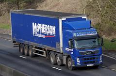 McPherson of Aberlour Volvo FM SV61AYP (andyflyer) Tags: truck transport lorry mcpherson aberlour a90 haulage hgv roadtransport volvofm sv61ayp