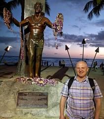Waikiki Beach Duke Kahanamoku Statue (JonathanWolfson) Tags: waikiki waikikibeach kapiolani