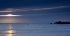 Purbeck Sunrise (Peter Quinn1) Tags: beach sunrise pier dorset swanage earlymorninglight