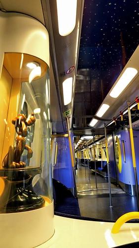 Onboard Disney Train..