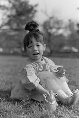 Phoebe (che_916) Tags: park bw white black film analog blackwhite nikon outdoor taiwan f100 400 taichung analogue agfa rodinal apx nikkorafs50mmf18g chephotography