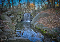 Central Park, waterfall in the Ravine (Singing With Light) Tags: nyc ny photography pond centralpark manhattan sony milford 29th morningstroll mirrorless singingwithlight singingwithlightphotography alpha6000 sonya6000 march2016